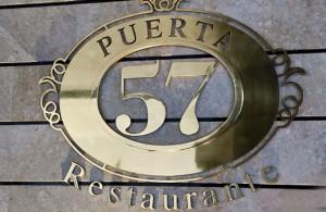 Puerta 57 calle padre dami n s n madrid for Puerta 57 restaurante