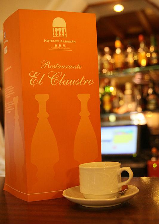 Restaurante El Claustro Hotel Alboran Algeciras