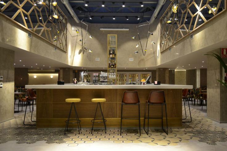 Café Colón Madrid Barra
