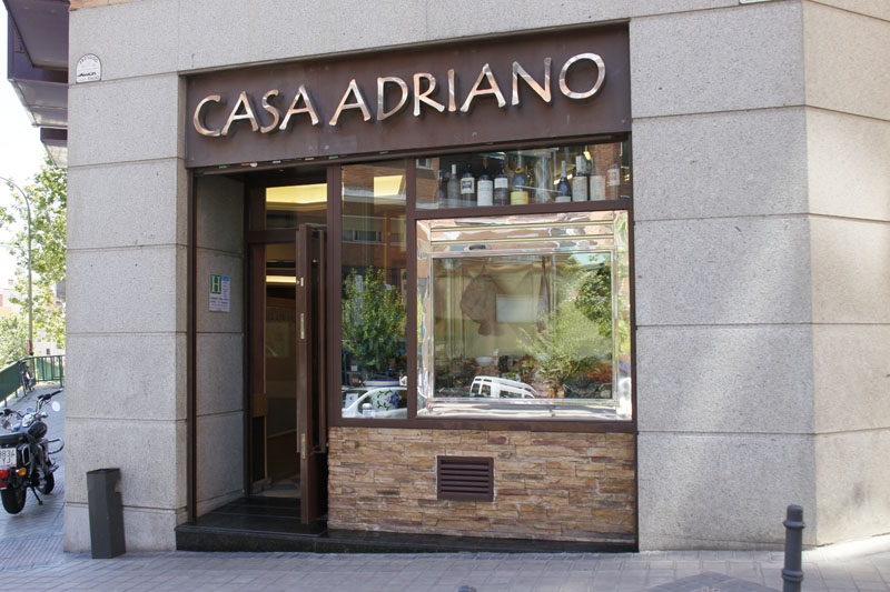 Casa adriano calle pamplona 19 madrid for La casa encendida restaurante madrid