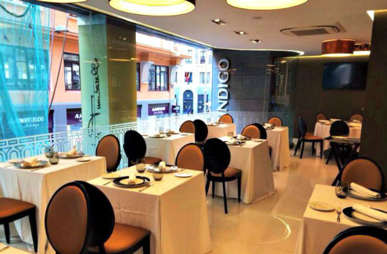 Restaurante Andrea Tumbarello en Hotel Indigo Madrid