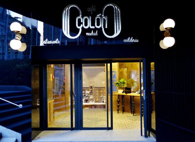 Café Colón Madrid Restaurante Entrada