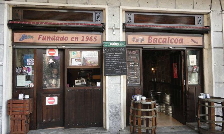 Bacaicoa Bar Bilbao