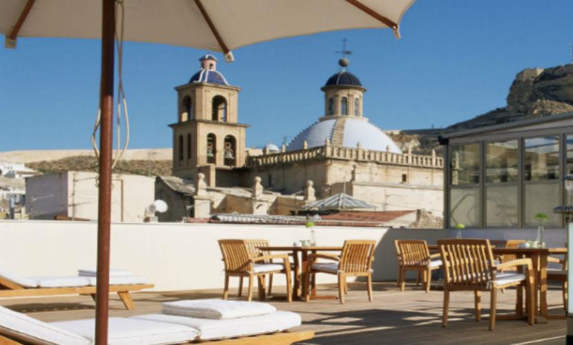 Hotel hospes am rigo restaurante monastrell calle rafael for Hotel diseno alicante