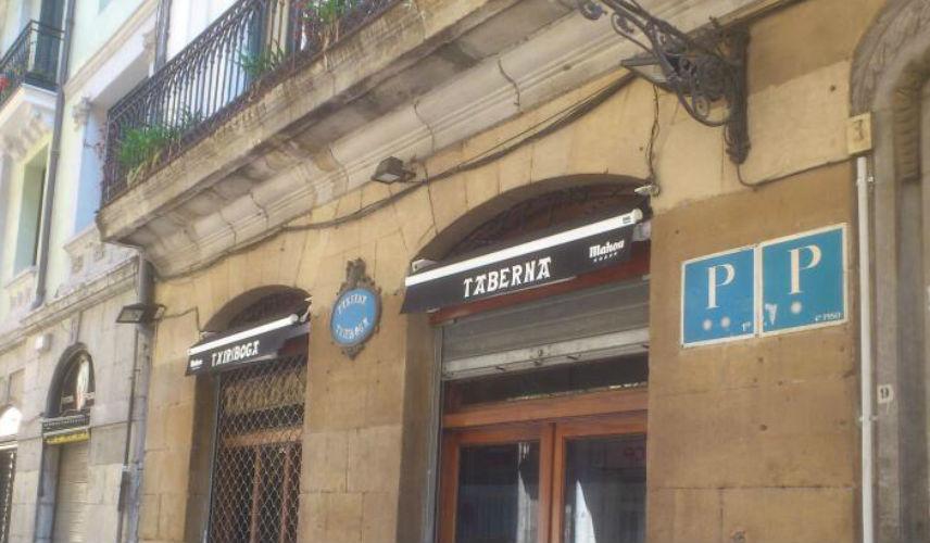 Restaurante Taberna Txiriboga Bilbao Fachada