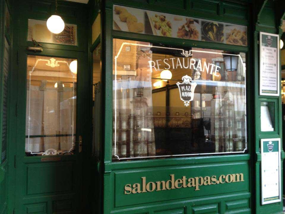Sal n de tapas calle gerona 4 madrid for Salon des eta