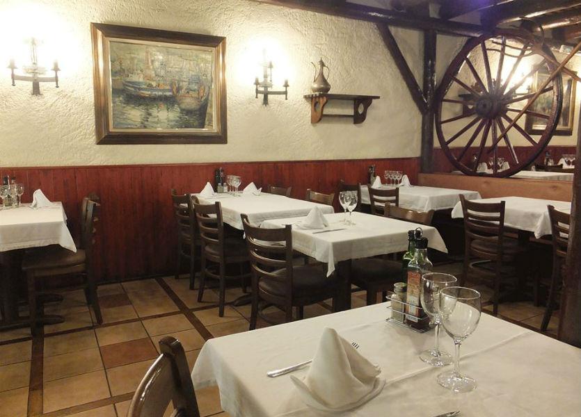 Meson Las Forcas Restaurante Comedor Rustico