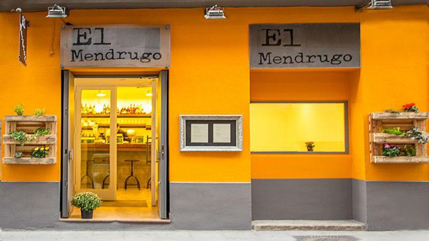 Restaurante El Mendrugo Madrid Fachada