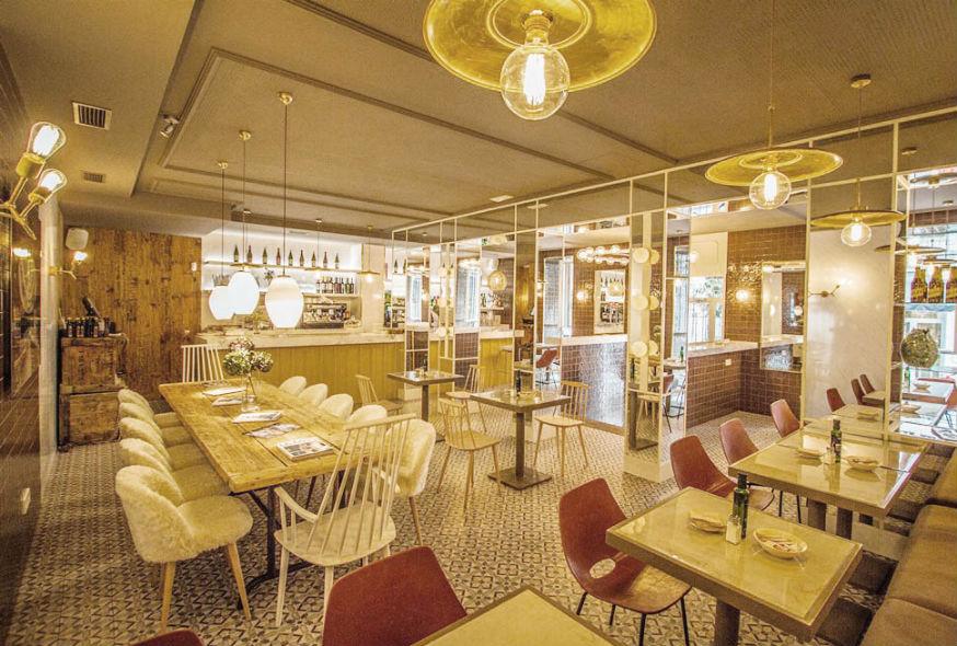 Restaurante Lady Madonna Madrid Interiores