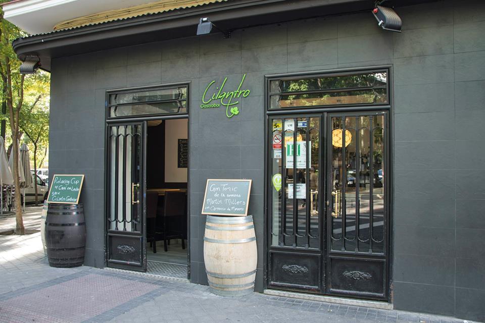 Cilantro gastrobar calle general lvarez de castro 7 for Alvarez de castro
