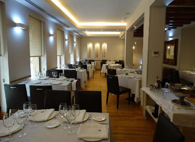 Restaurante St James Ortega Gasset Madrid
