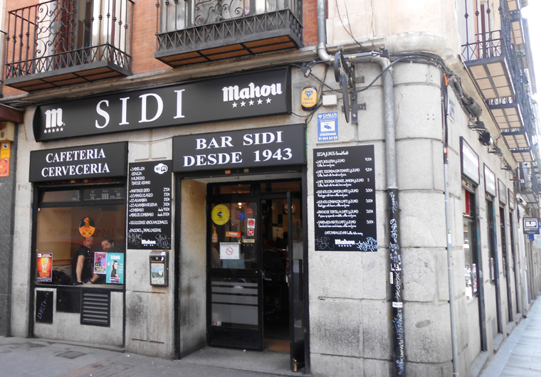 Bar Sidi Madrid Fachada