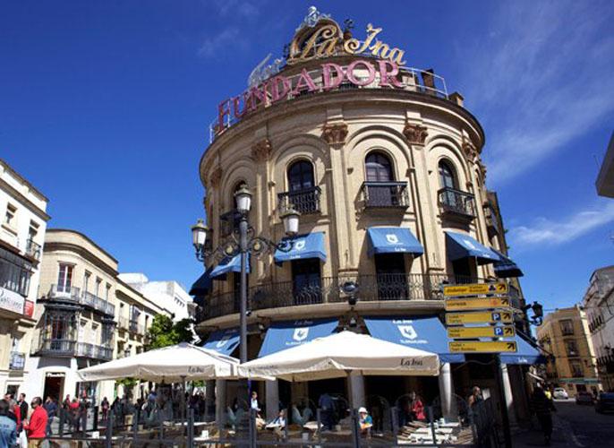 Restaurante El Gallo Azul Fachada