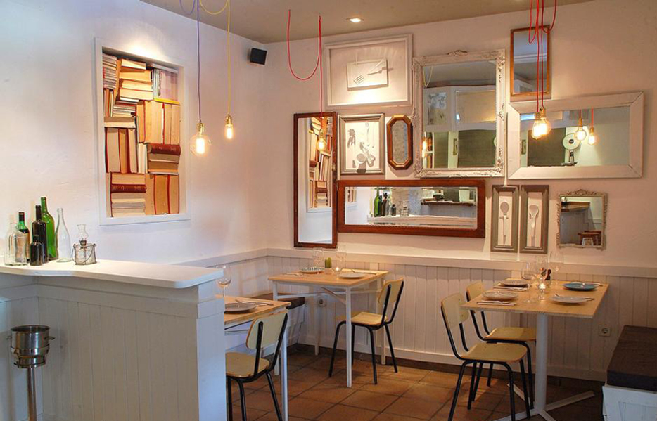 Restaurante La Kitxen Madrid Interiores