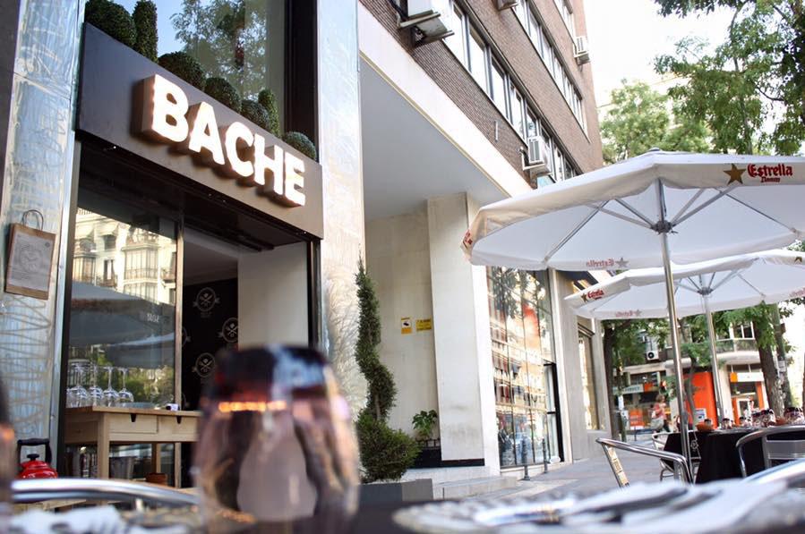 Restaurante Bache Madrid Terraza