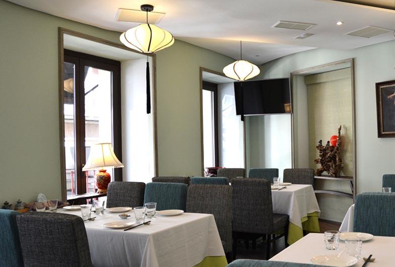 Restaurante Casa Lafu Madrid Salones