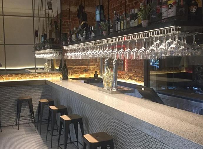 Restaurante La Raquetista Madrid Barra