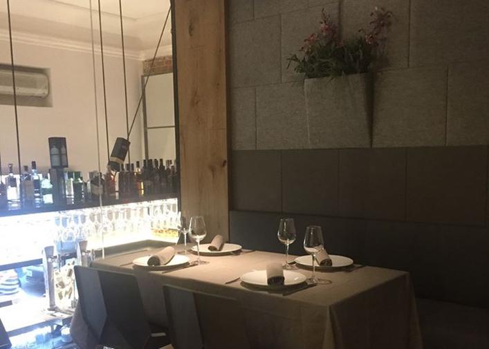 Restaurante La Raquetista Madrid Interiores
