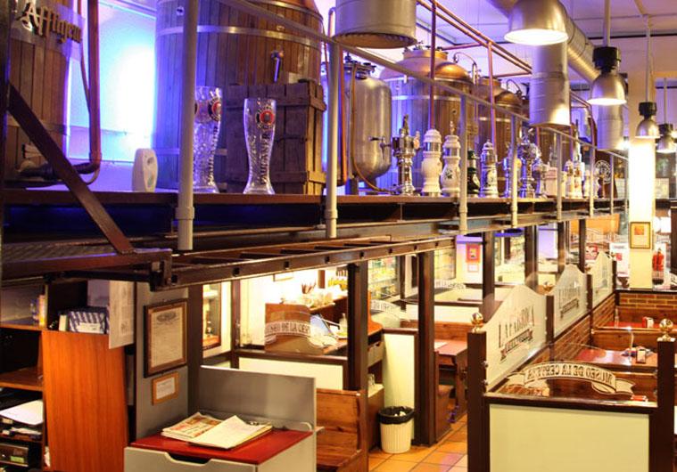La f brica museo de la cerveza calle genova 21 madrid - Fabrica de cocinas en madrid ...