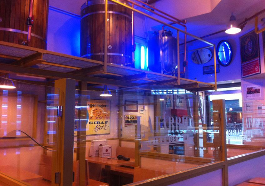 La f brica museo de la cerveza calle adolfo bioy casares for Fabrica de cocinas madrid