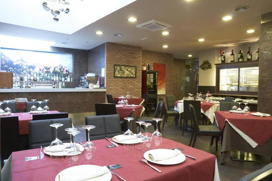 Aitana Restaurante Aranda de Duero Comedor