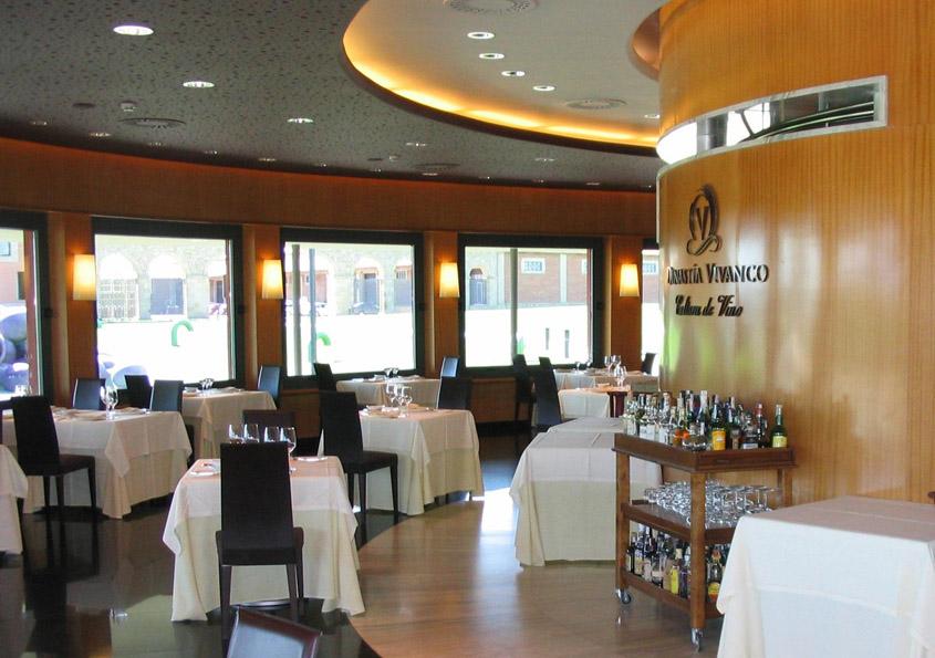Dinastia Vivanco Briones Restaurante Bodega