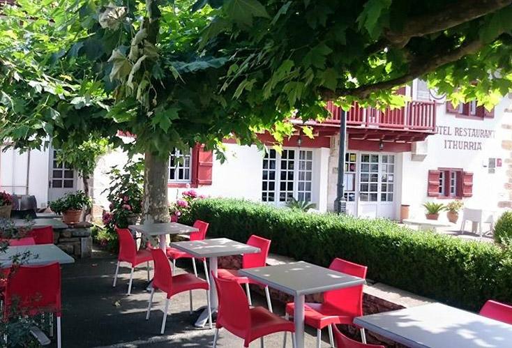 Hotel Ithurria Restaurant Terraza Ainhoa