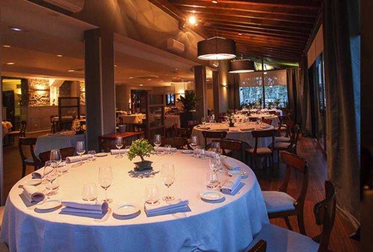 Restaurante Alameda Hondarribia Comedor