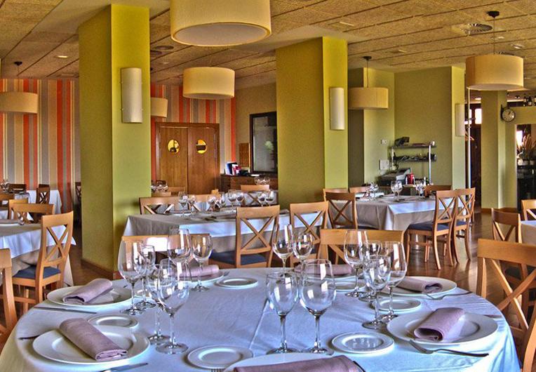 Restaurante Amelibia Laguardia Comedor