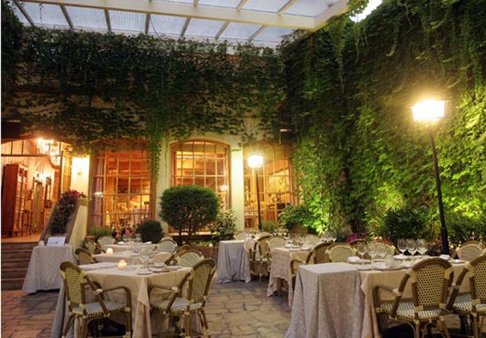Restaurante Andere Vitoria jardin
