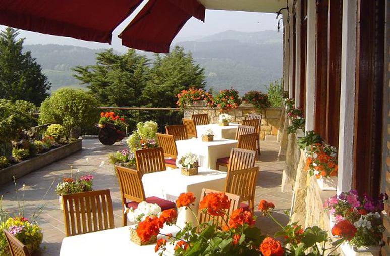 Restaurante Andra Mari Galdakao Terraza