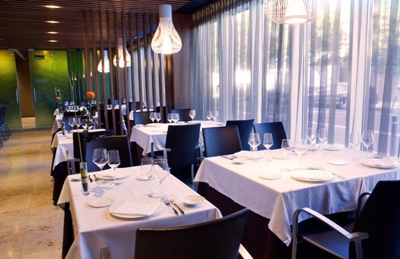 Restaurante arimendi en jardines de uleta calle uleta 1 for Hotel jardines de uleta vitoria