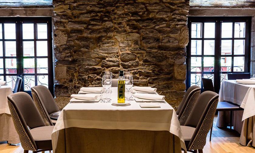 Restaurante Arkupe Vitoria Comedor