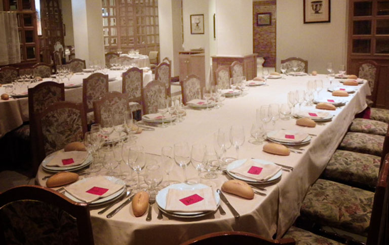 Restaurante Conde de Alava Vitoria Comedor