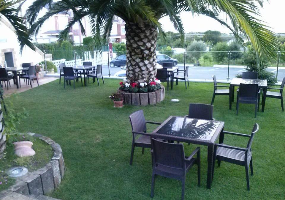 Restaurante El Ruso Castro Urdiales Jardin