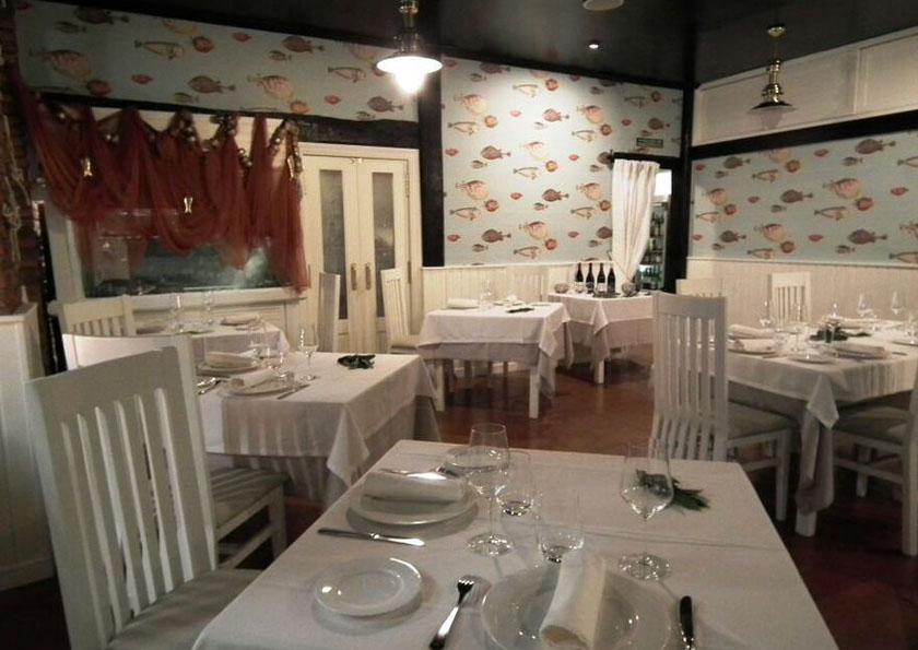 Restaurante Las Redes San Vicente de la Barquera Comedor