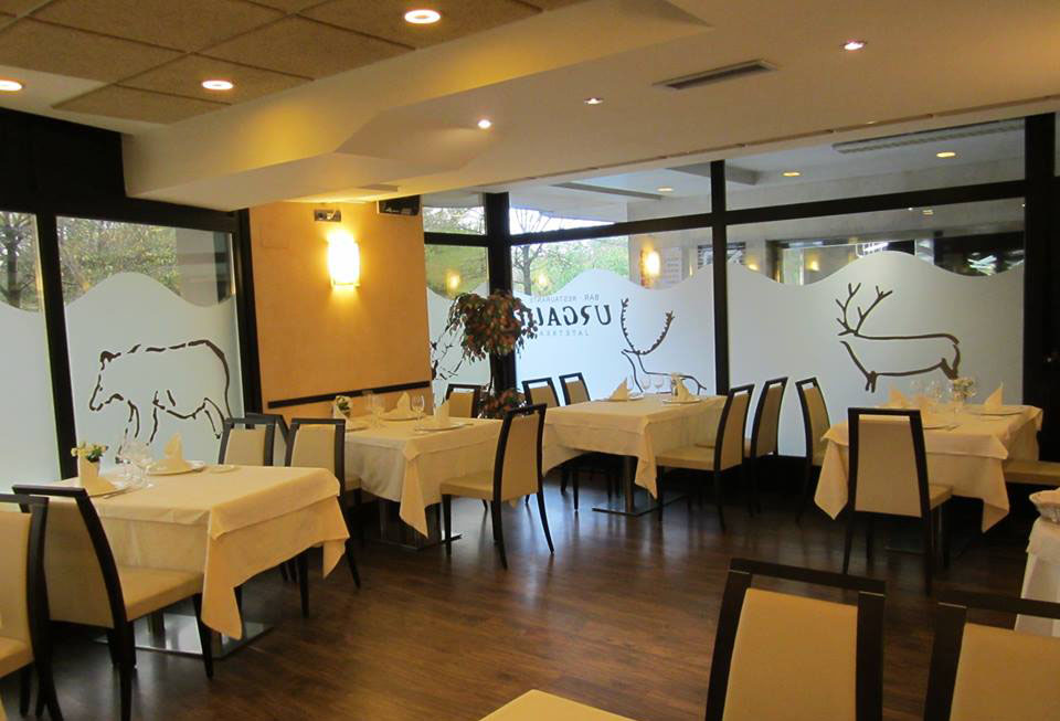 Restaurante Urgain Deba Comedor