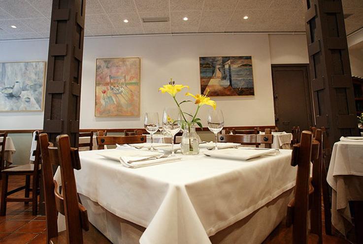 Restaurante Astelena San Sebastian Comedor