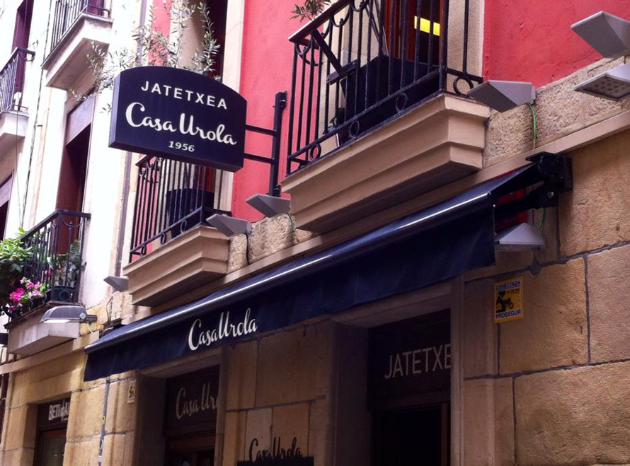 Restaurante Casa Urola Fachada Donosti