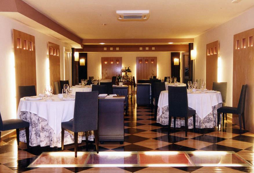 Restaurante El Serbal Santander Interiores
