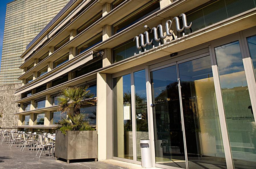 Restaurante Ni Neu Fachada Donostia