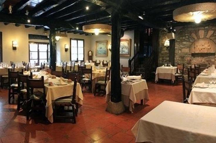 Beko Errota Restaurante Hondarribia Comedor