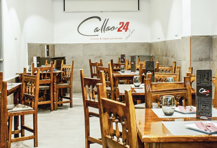 Restaurante Callao 24 Salon Vallecas