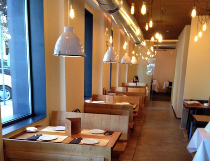 La divina de goya calle goya 111 madrid for La casa encendida restaurante madrid