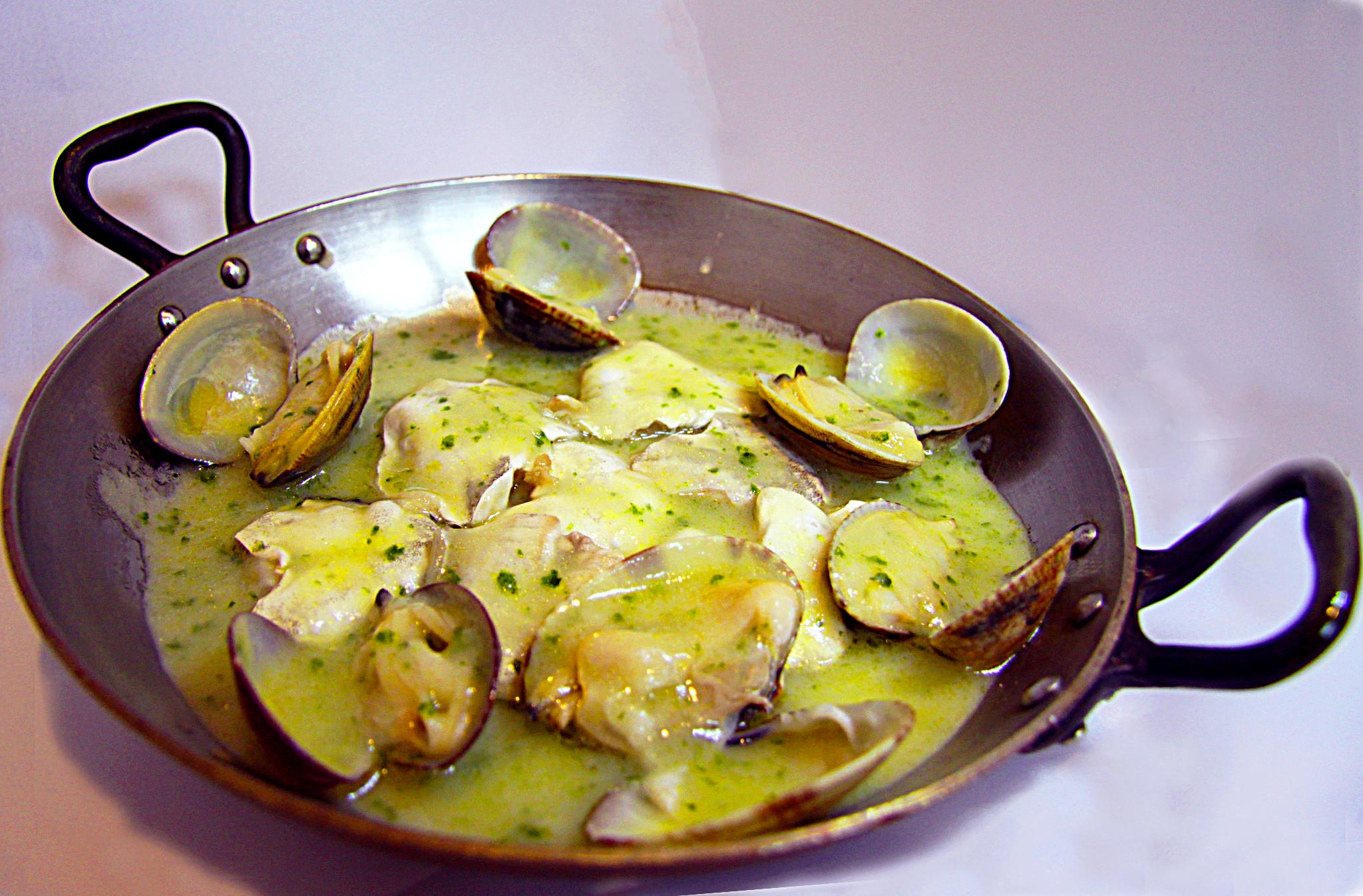Etxanobe avda abandoibarra 4 bilbao - Salsa verde para almejas ...