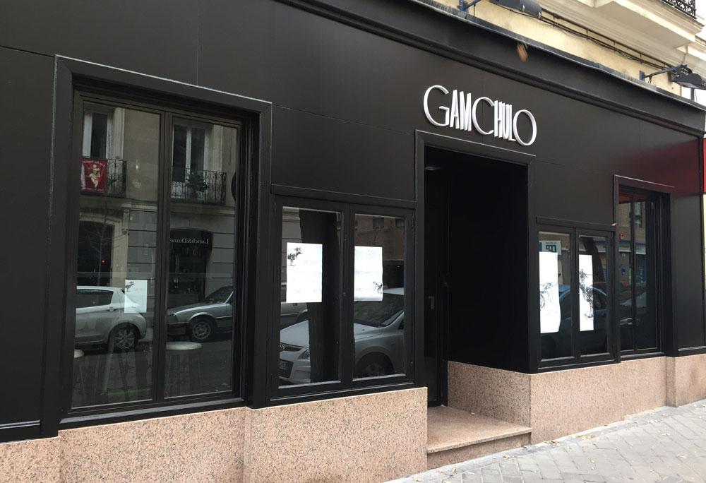 Restaurante Gamchulo en la calle Zurbano de Madrid