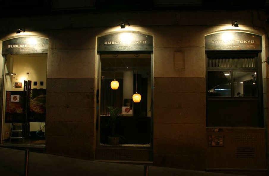 Sublime Tokyo Madrid Restaurante Japones Fachada