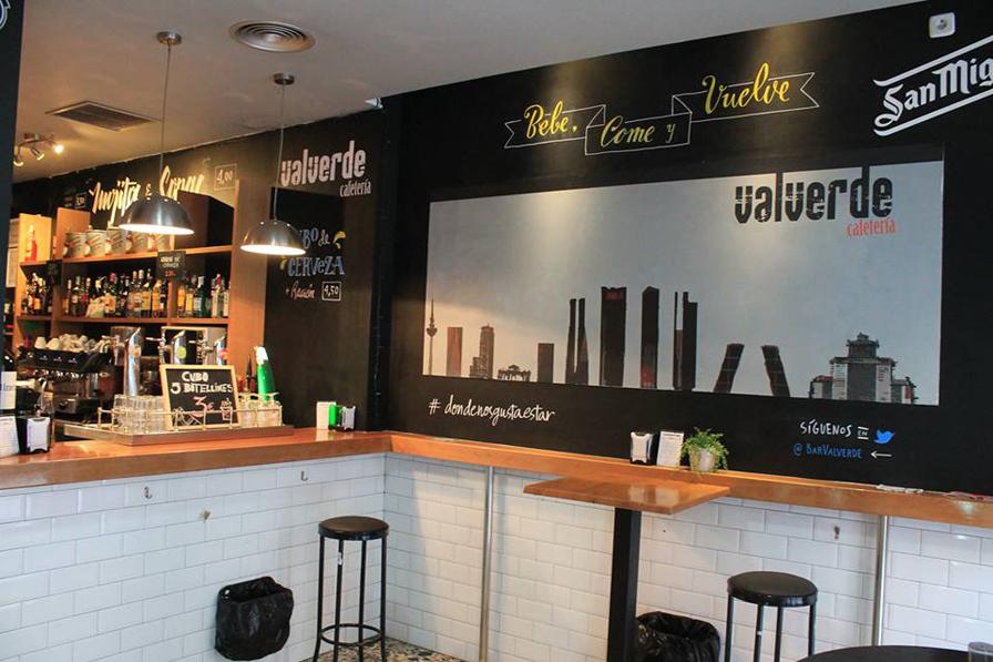 Cerveceria Valverde Madrid
