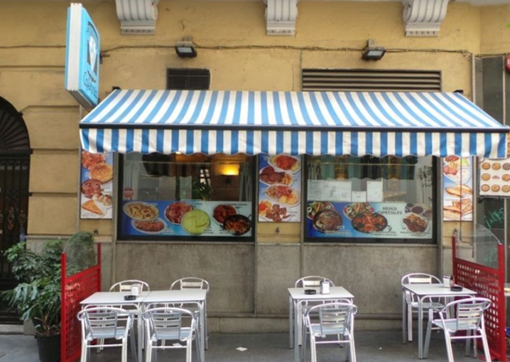Restaurante Villa Verin Madrid Terraza