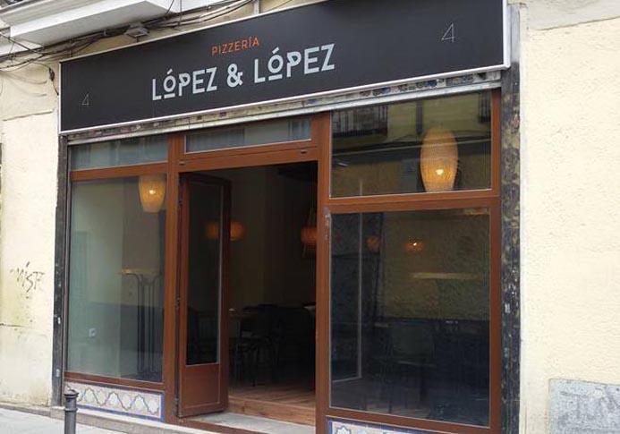 Lopez & Lopez Pizzeria Madrid Fachada